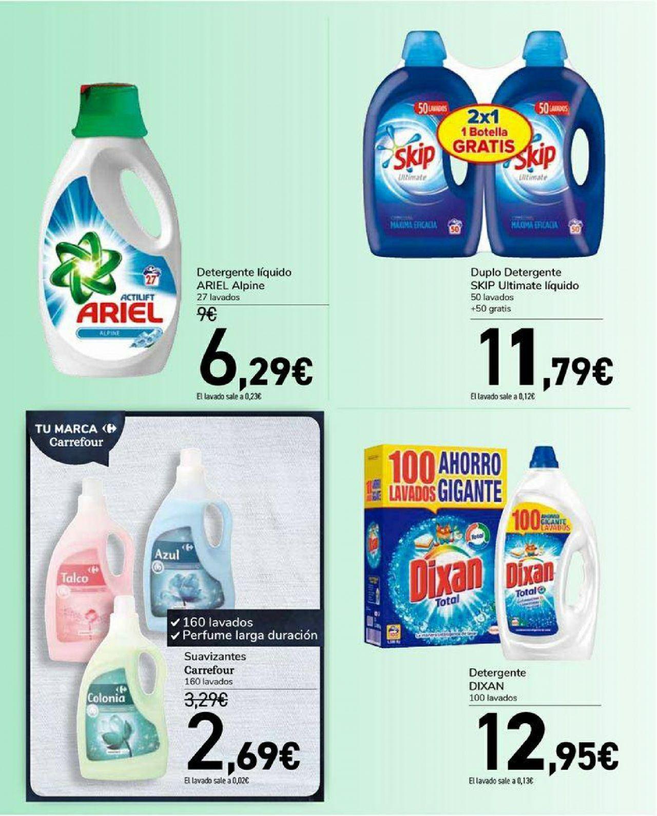Carrefour catálogo 3x2 100 lavados skip