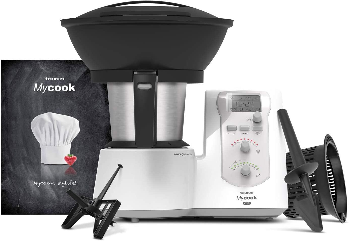 Taurus Mycook One Robot de Cocina Inteligente Multifunción
