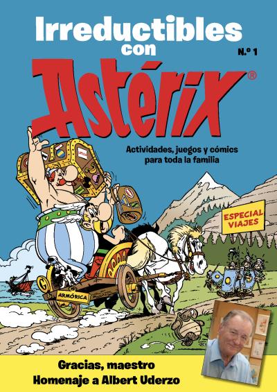 Descárgate gratis la revista Astérix