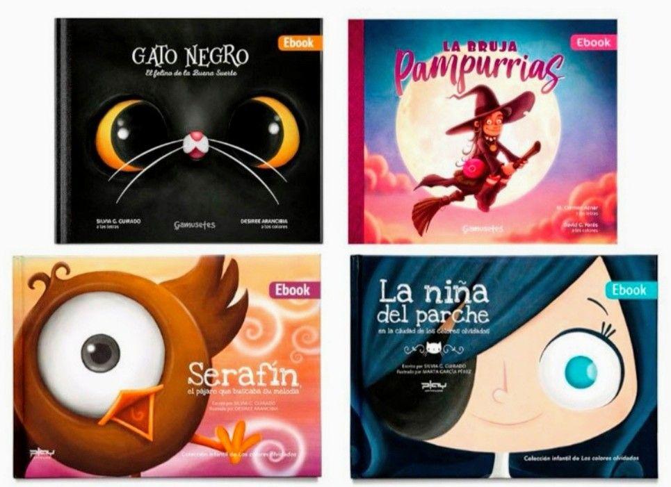 Gratis 4 libros infantiles y un montón de actividades imprimibles gratuitas.