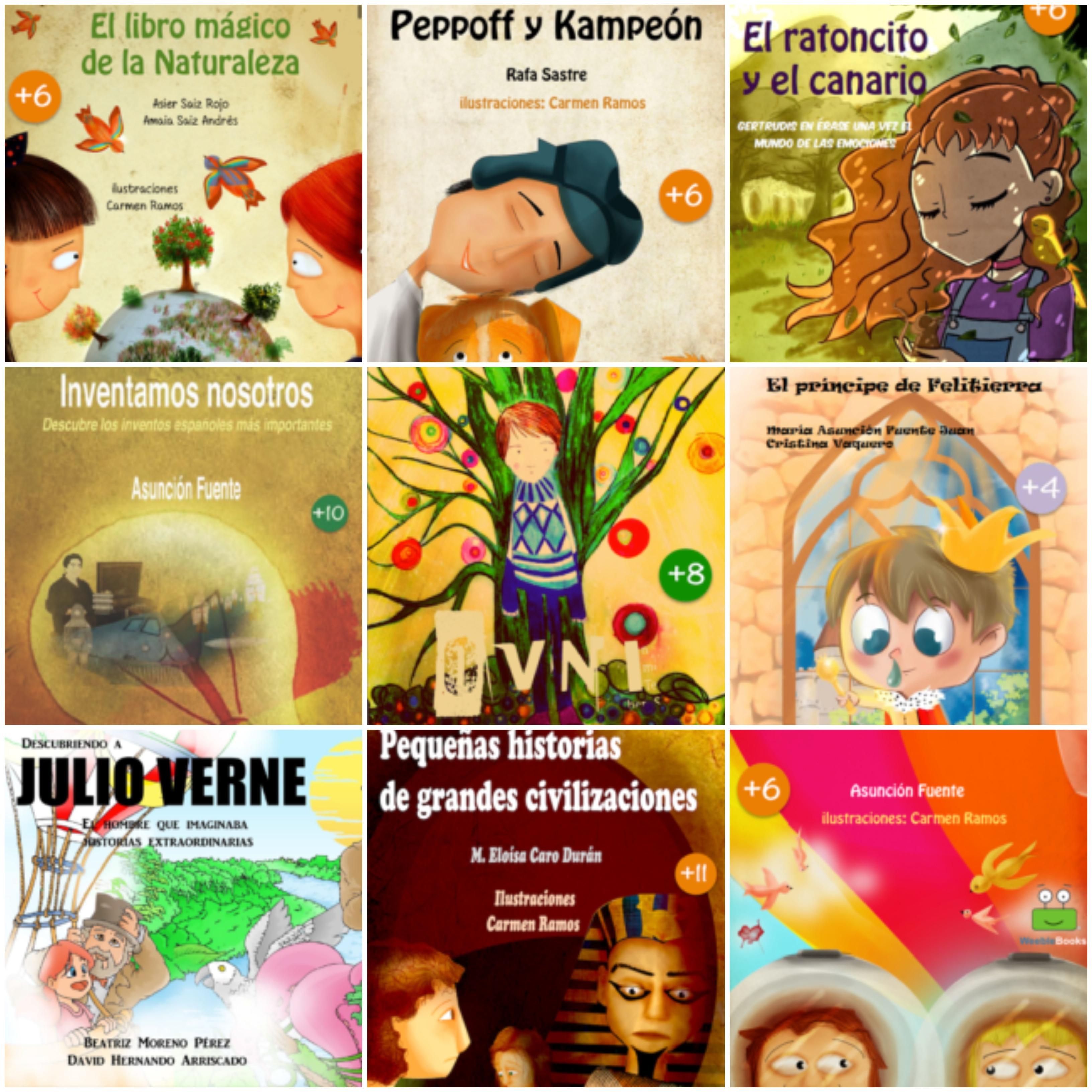 WeebleBooks :: + 50 libros infantiles gratis