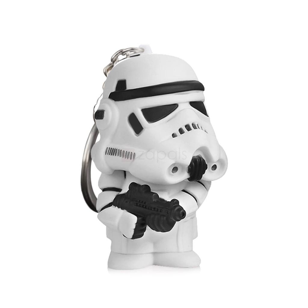 Llavero con luz LED de Stormtrooper Star Wars