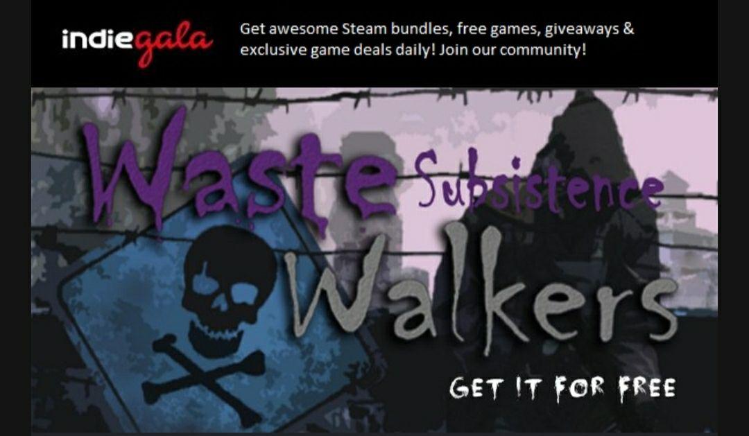 Waste Subsistence Walkers (freebie) - Indiegala
