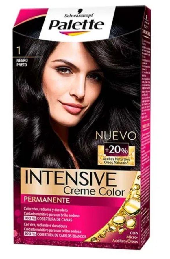 Pallete Intensive Creme Color Tinte para el pelo