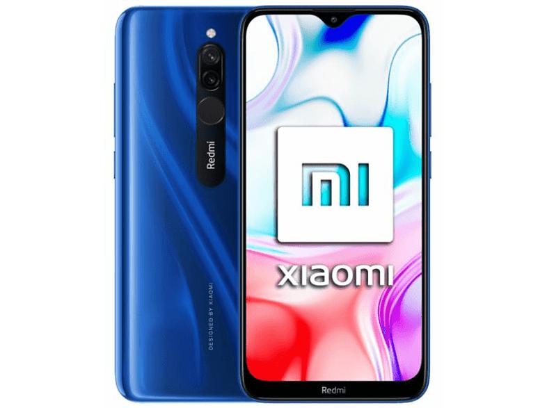"Xiaomi Redmi 8, Azul, 64 GB, 4 GB RAM, 6.22"" HD+, Snapdragon 439, 5000 mAh, Android"