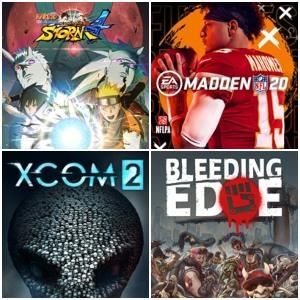 XBOX :: Juega Gratis Naruto Shippuden, XCOM 2, Madden NFL 20 y Bleeding Edge