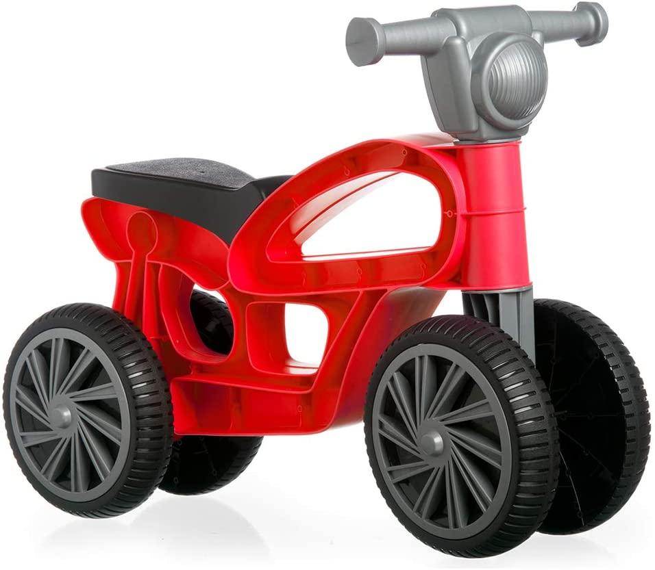 Chicos - Juguete infantil Correpasillos con Cuatro Ruedas Mini Custom Rojo - A quemar energía!