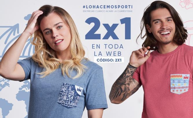 2x1 en camisetas de Noisno