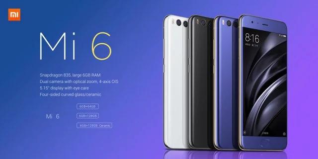 Xiaomi Mi6 6GB/128GB código: blackfridayes66