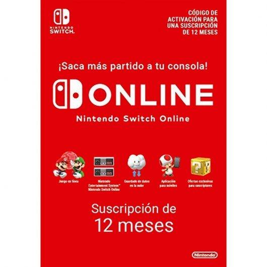 Nintendo Switch Online Suscripción Individual 12 Meses