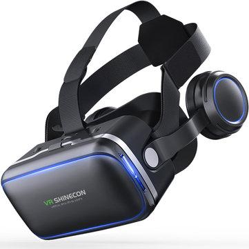 Gafas virtuales VR Shinecon 6.0 360 Degree Stereo 3D para Smartphone