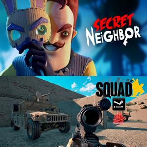 STEAM :: Juega gratis Squad y Secret Neighbor