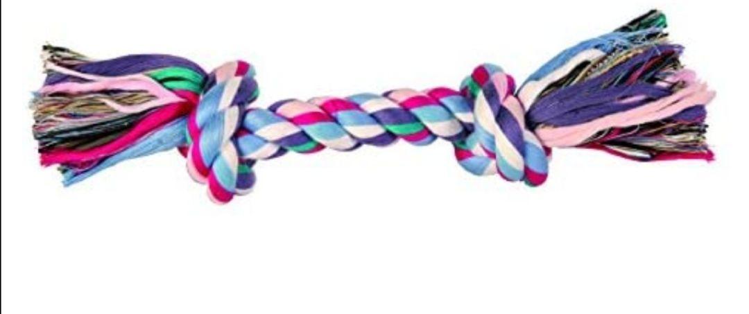 Trixie 3272 Cuerda de Juego, Algodón, 26 cm