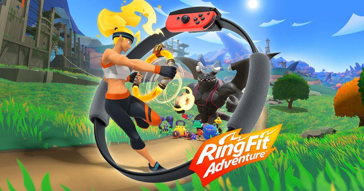 Ring fit adventures (Disponible en Alcampo Diagonal Mar y 2 mas)