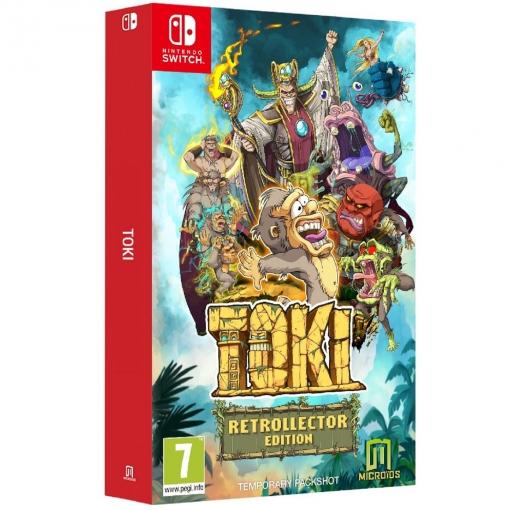 TOKI. Retrocollector Edition. Nintendo Switch