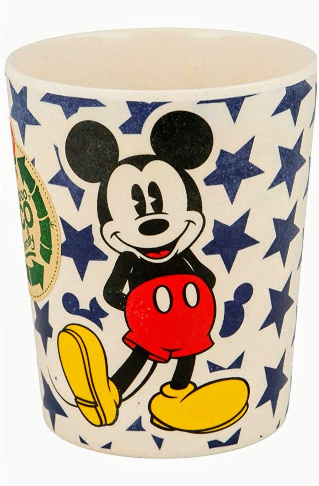 Vaso de Bambú ecológico Mickey Mouse - Disney con licencia oficial.