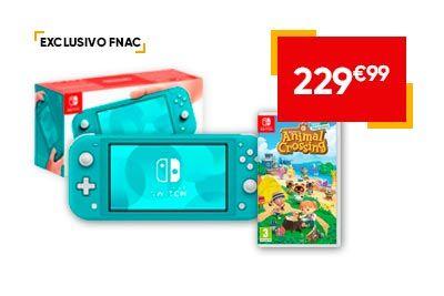 Nintendo Switch Lite + Animal Crossing New Horizonts