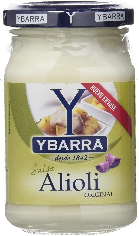 Ybarra Salsa Alioli a solo 0,67€ con compra recurrerte al tramitar el pedido)