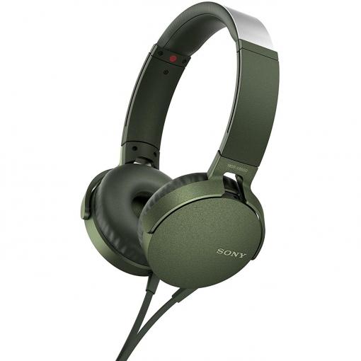 Auriculares Sony MDRXB-550AP (verde)