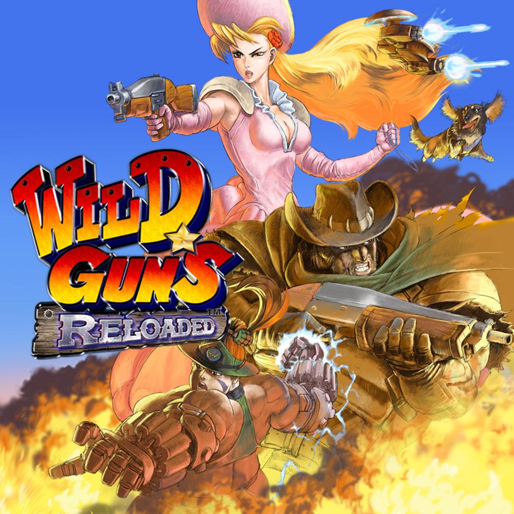 Wild Guns Reloaded switch