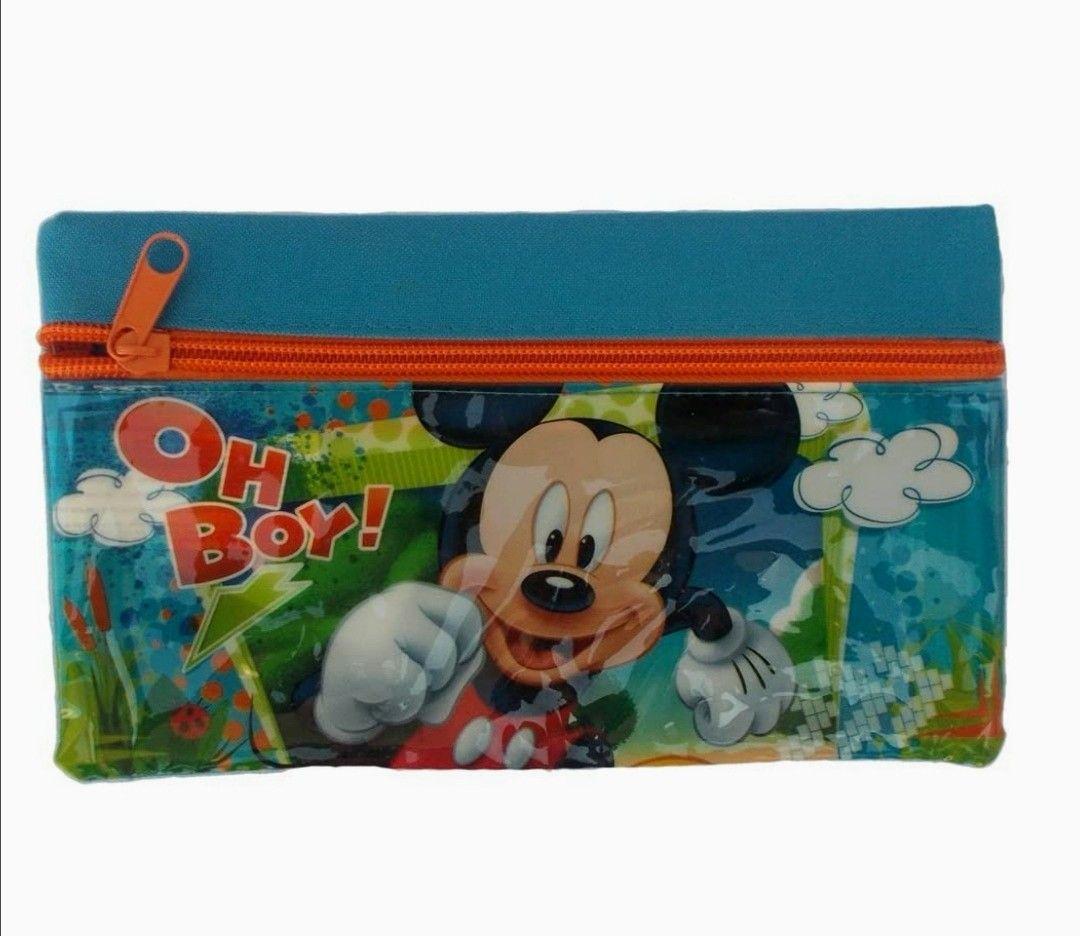 Estuche - portatodo Mickey Mouse 20X12 CM.