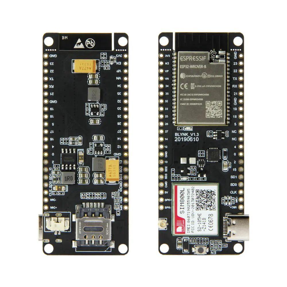 LILYGO® TTGO T-Call V1.3 ESP32 Módulo inalámbrico GPRS Antena Tarjeta SIM