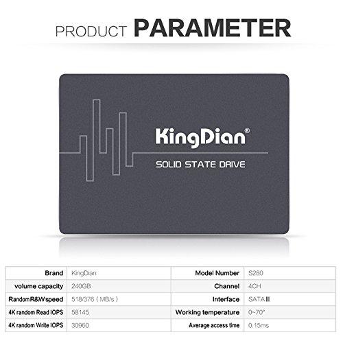 SSD KingDian 240GB en Amazon