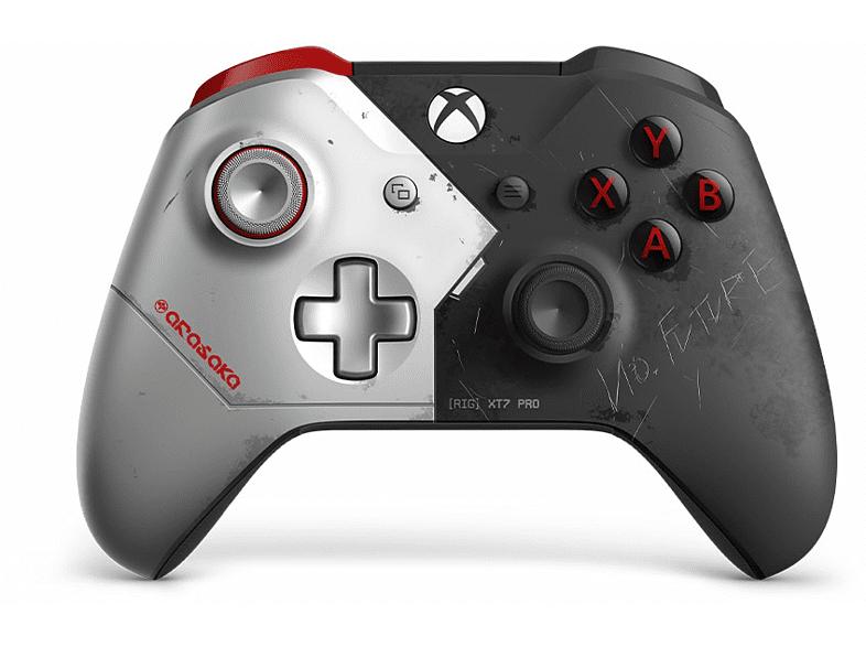 Mando - Xbox One Cyberpunk 2077 + Adaptador W10