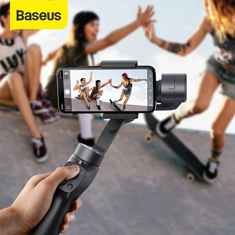 Baseus estabilizador 3 ejes para smartphone