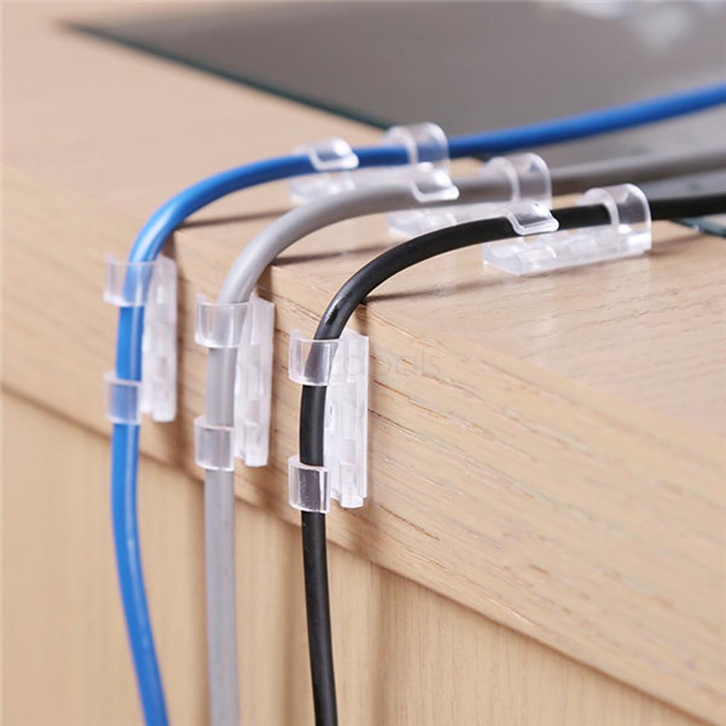 Organizador de cables (20 unidades)