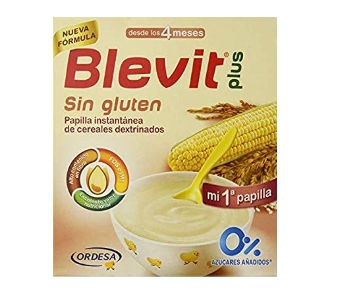 Blevit Plus Cereales Bebé - Sin Gluten - 600 grs