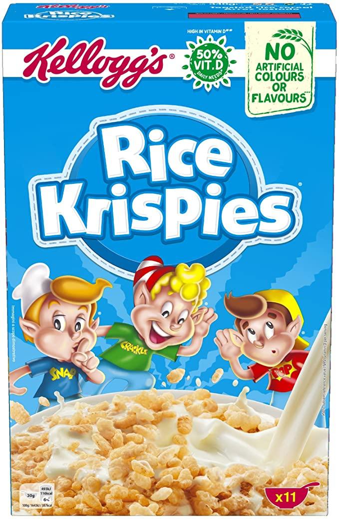 5 paquetes de cereales por 2,11€