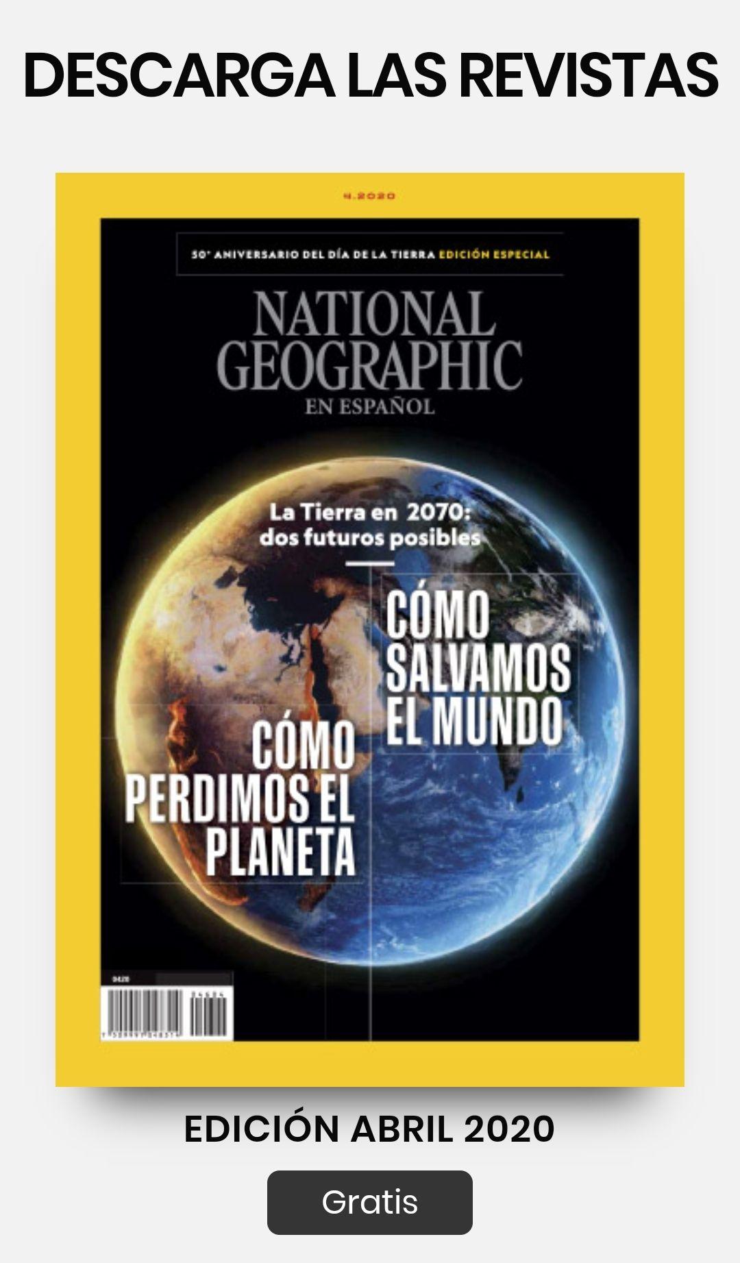 National geographic revista junio