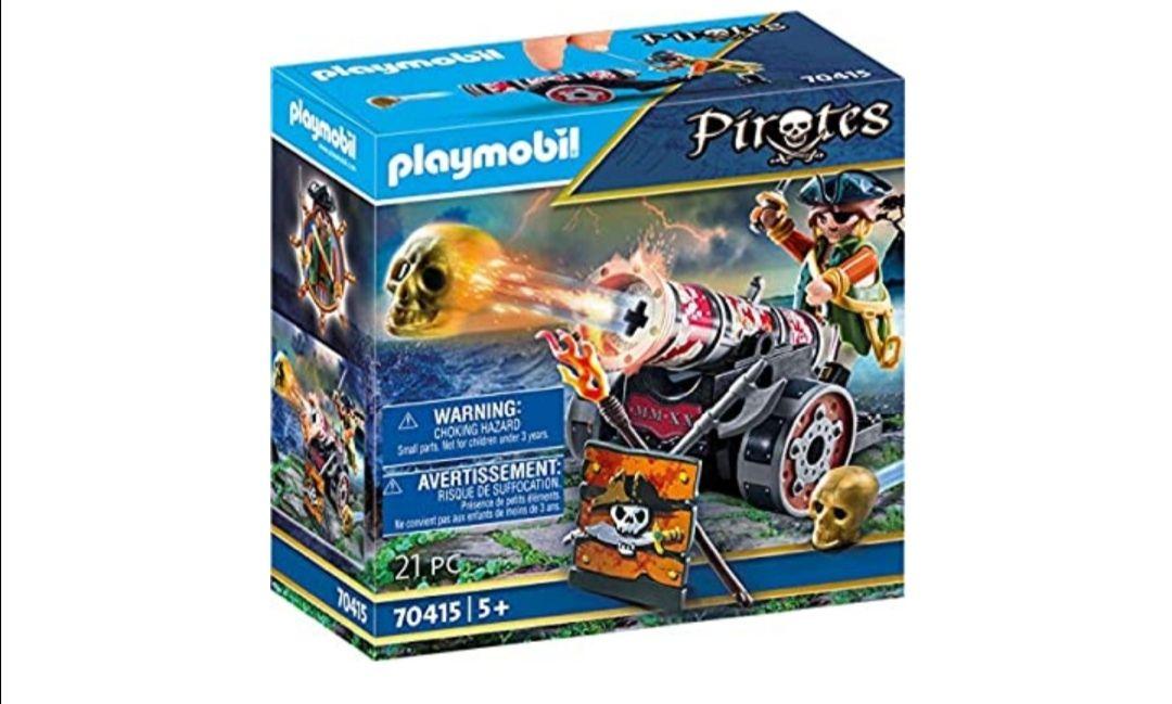 PLAYMOBIL-Pirata con cañón