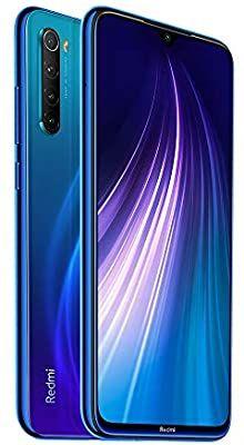 Xiaomi Redmi Note 8 de color Neptune Blue Versión Europea