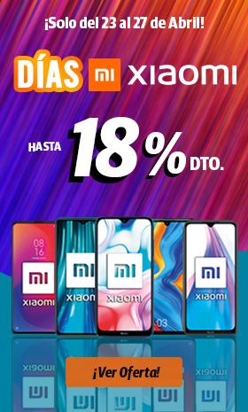 Días Xiaomi - Móviles y smartphones hasta 18% de descuento