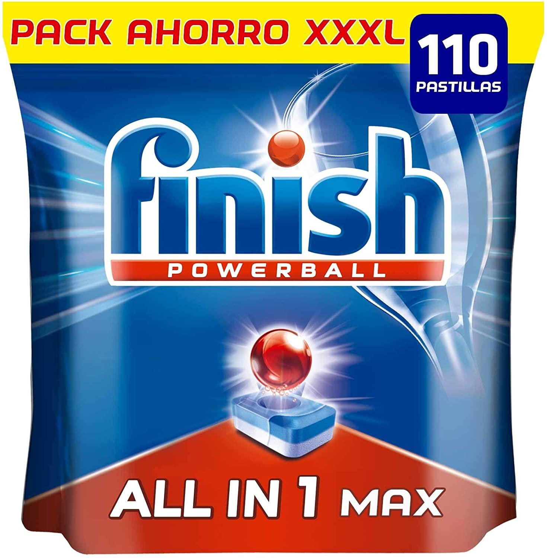 Finish Powerball All in 1 Max - Pastillas todo en 1 - 110 uds