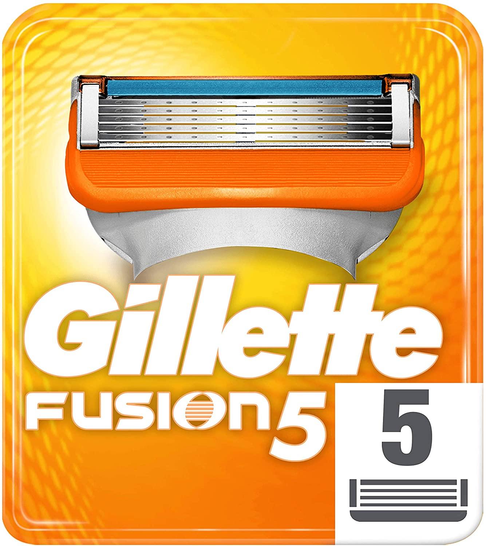 Gillette Fusion5 Maquinilla Afeitar - 5 Recambios