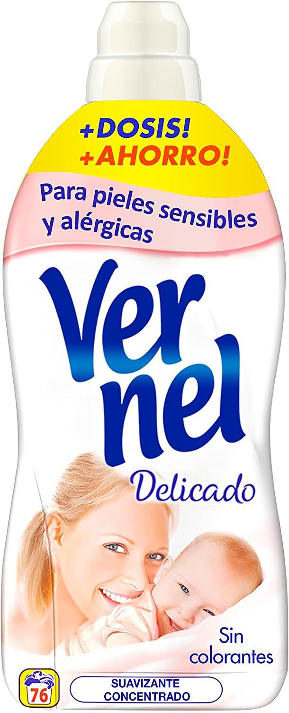 Suavizante Concentrado Delicado Vernel (76 lavados) (Compra recurrente)