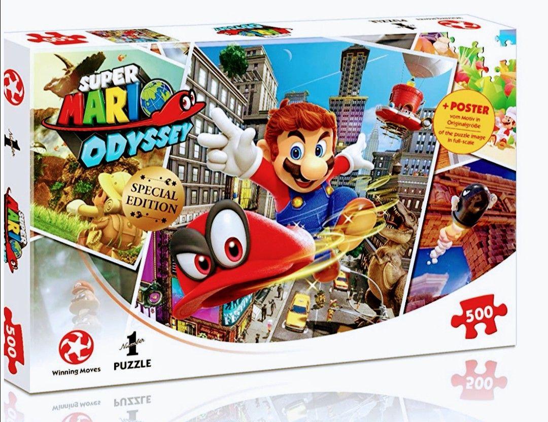 Puzzle Super Mario Odyssey World Traveler, 500 piezas.