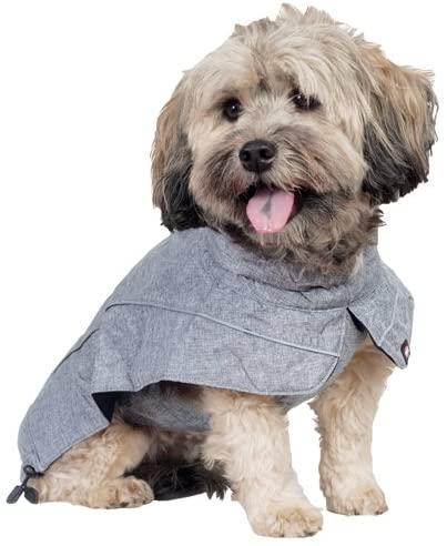 Trixie Capa Prime para perretes pequeñines, 30 cm, Gris, XS - Mínimo-