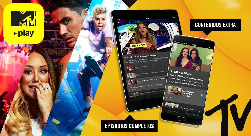 MTV Play Gratis por el coronavirus