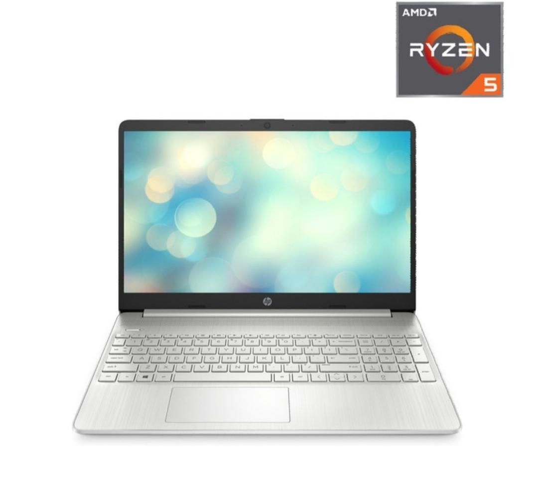 Portatil HP 15s-eq0017ns, AMD Ryzen 5, 12 GB, 512 GB SSD, AMD Radeon Vega