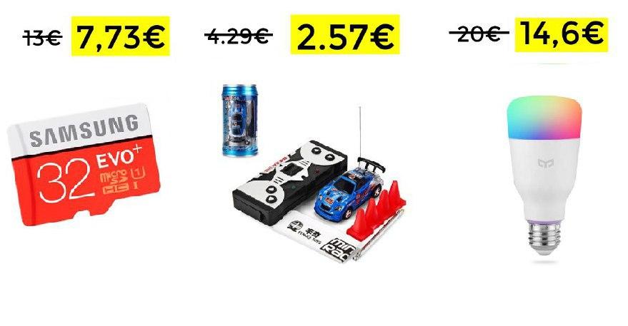 Micro SD Samsung EVO 32 GB solo 7,73€