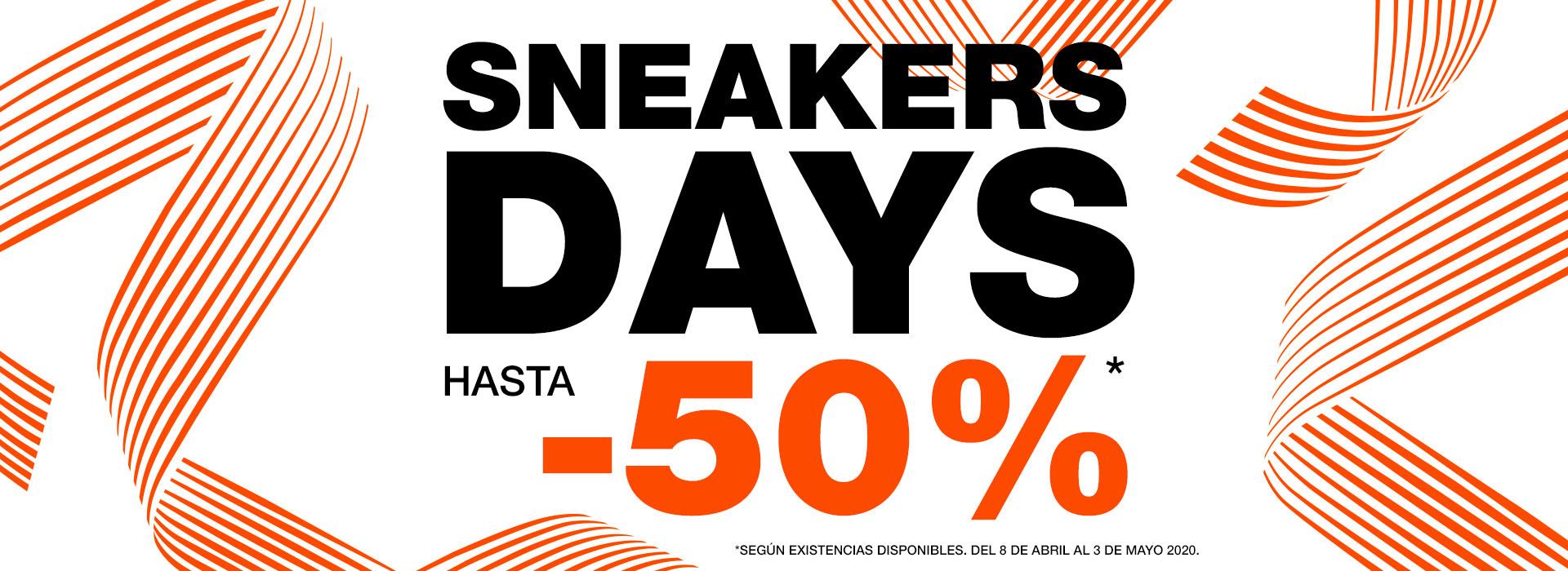 Sneaker days Hasta 50%