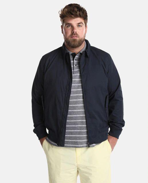 Cazadora de hombre Emidio Tucci azul con dos bolsillos talla 62