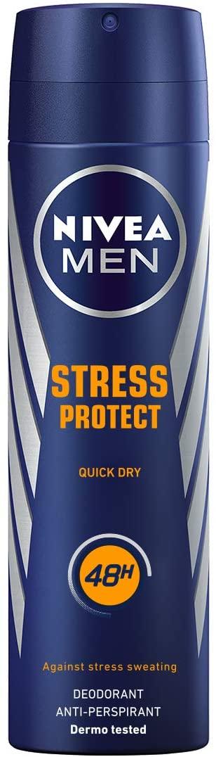 Desodorante Nivea Men 200ml Stress Protect Men - PANTRY