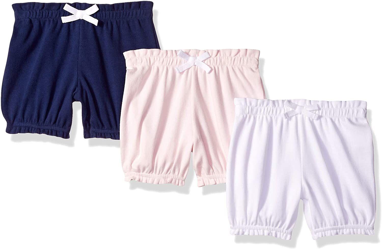Pack de 3 pantalones bombachos para niña recién nacida. Con código.