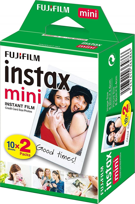 Papel instax mini Fujifilm (2x10)