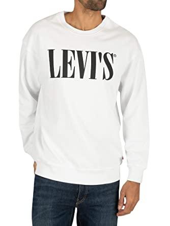 Levi's Relaxed Graphic Crewneck Sudadera para Hombre todas las tallas.